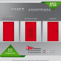 Home Page del sito www.ismet-lb.it
